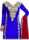 Royal Blue Georgette Suit