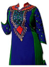 Blue/Green Georgette Suit- online dresses