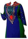 Blue/Green Georgette Suit