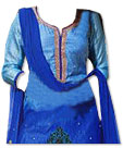 Blue Georgette Suit- Pakistani dress