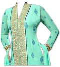 Light Sea Green Georgette Suit- Pakistani dresses