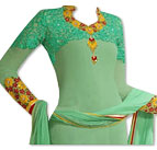 Light Green Georgette Suit- online dresses