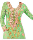 Light Green/Pink Georgette Suit
