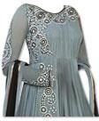 Grey Chiffon Suit- online dresses