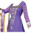Purple Chiffon Suit- Indian wear