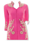 Pink/Cream Chiffon Suit- Indian Dress