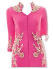 Pink/Cream Chiffon Suit