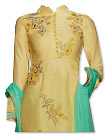 Golden Georgette Suit- Indian Dress