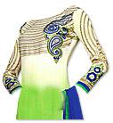 Green/Blue Georgette Suit