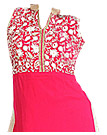 Bright Pink Georgette Suit- Pakistani clothing