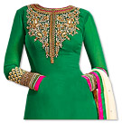 Green Georgette Suit