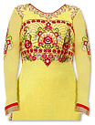Yellow Georgette Suit- Pakistani clothes