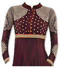 Mauve Georgette Suit- Indian Semi Party Dress