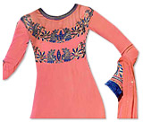 Peach Georgette Suit- Pakistani clothes