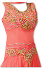 Peach Chiffon Suit- Indian Dress