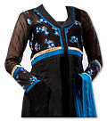 Black Georgette Suit - Pakistani Casual Clothes