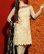 Royal Blue/Ivory Lawn Suit- Cotton dress
