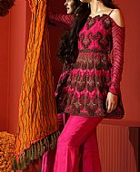 Hot Pink Chiffon Suit- Pakistani Chiffon Dress