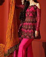 Pink/Blue Lawn Suit- Pakistani Cotton dress