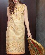 Ivory Cotton Net Suit