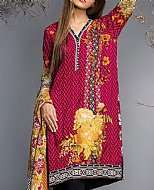 Hot Pink Viscose Suit- Pakistani Winter Clothing