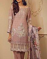 Tea Pink Chiffon Suit