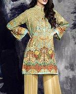 Turquoise Linen Shirt- winter dress