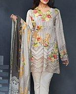 Grey Khaddar Suit- winter wear