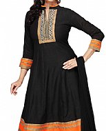 Black Georgette Suit- casual clothing
