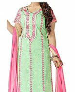 Mint/Pink Georgette Suit- online clothing