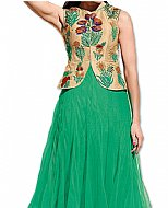 Sea Green Net Suit- Indian Dress