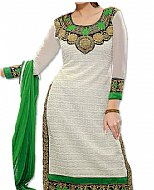 White/Green Net Suit