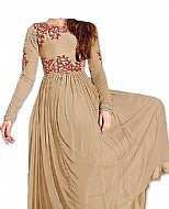 Beige Chiffon Suit- online clothing
