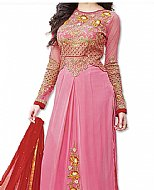 Pink/Red Georgette Suit