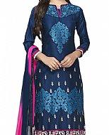 Navy Blue Georgette Suit- Indian Dress