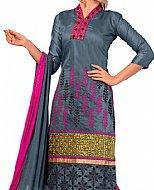 Dark Grey Georgette Suit- Indian Dress