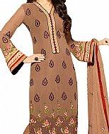 Brown Georgette Suit- Indian Dress