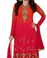 Red Georgette Suit- Indian Dress