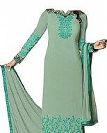 Light Green Georgette Suit