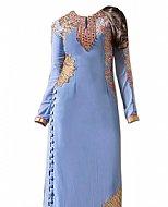 Lilac Georgette Suit