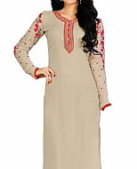 Ivory Georgette Suit- Indian Dress