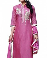 Hot Pink Georgette Suit