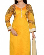 Mustard Georgette Suit- Indian Dress