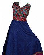 Blue Georgette Suit- Indian Semi Party Dress