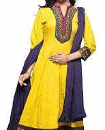 Yellow Georgette Suit- Indian Dress