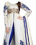 White Chiffon Suit- Indian Dress