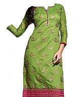 Green Georgette Suit