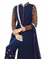 Blue Georgette Suit- Indian Dress