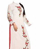 White Georgette Suit