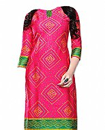Hot Pink Georgette Suit